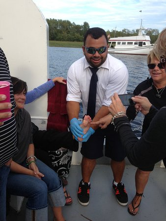 Wolastoq Boat Tours & Private Charters: All staff are trained in First Aid