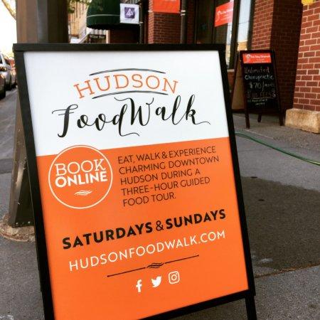 Register online for Hudson Food Walk tours on Saturdays and Sundays, June - November, 1:30-4:30.