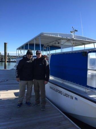 Beaufort, NC: Island Express Ferry Crew