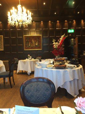 Cadnam, UK: Bartley Lodge Dining Room