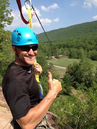 Nesquehoning, PA: Pocono Mountain Zipline! 900ft long, 8 Stories high, 30MPH