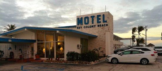 Key Colony Beach Motel: Eingangsbereich