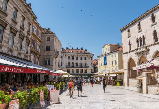 Podstrana, Kroatien: Split Highlights Walking Tour