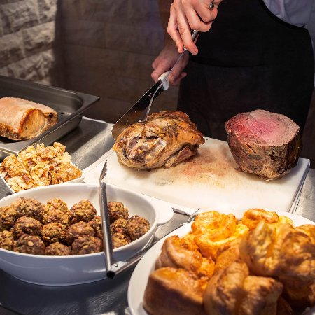 Traditional carvery every Wednesday and Sunday