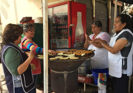 Mexico Street Food Tours: These ladies make a mean gordita and other hearty fare - perfect for breakfast.