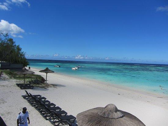 Palmar: The beach looking north.