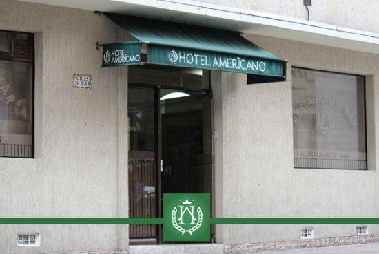 Hotel Americano: ENTRADA PRICIPAL