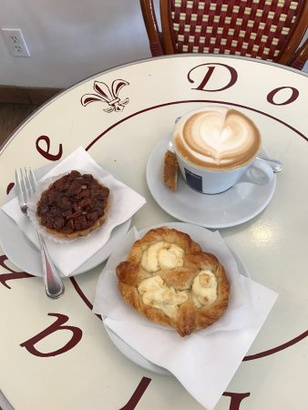 Douce France: Sweet pastries and a coffee