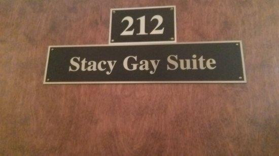 Plaza Suite Hotel Resort : El número y nombre de nuestra habitación...