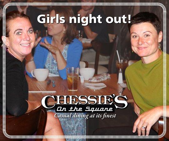 Hinton, Virginia Occidental: Girls night out!