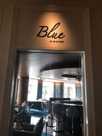 Blue By Eric Ripert: Entrance of Blue