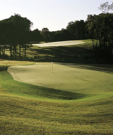 Marriottsville, MD: Par 4 17th hole