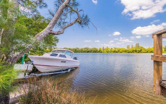 Woombah, Australia: Private Boat Ramp