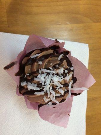 Wellington, CO: German Chocolate Cupcake