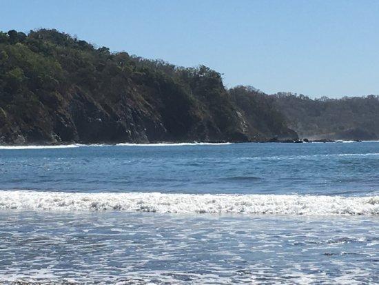 Punta Islita, Costa Rica: Nice beach! Volcanic rock and sand, warm water.