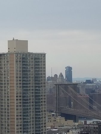 New York Marriott at the Brooklyn Bridge: view to Brooklyn Bridge