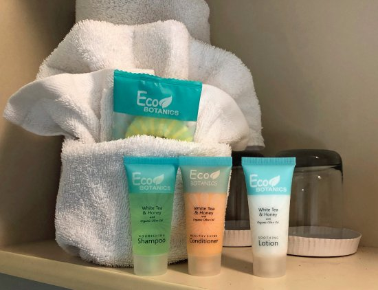 Bayfront Inn: Eco Friendly bath amenities