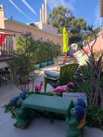 Bayfront Inn: courtyard