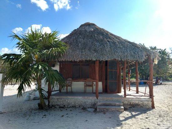 El Cuyo, المكسيك: Cabaña romántica para dos