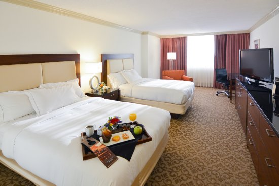 2 Double Beds Room Picture Of Hilton