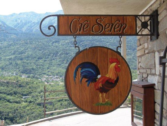 Giaglione, إيطاليا: L'ingresso dell'agriturismo Cré Seren