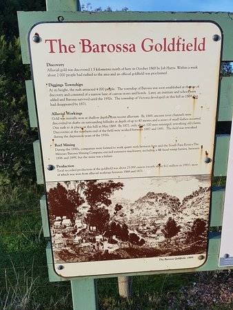Barossa Valley, ออสเตรเลีย: Barossa Goldfields Walking Trail