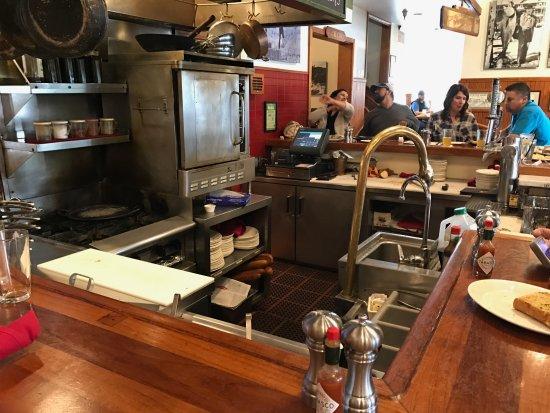 San Mateo, CA: Inside the restaurant