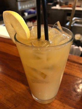 San Mateo, CA: Peachy Palmer drink