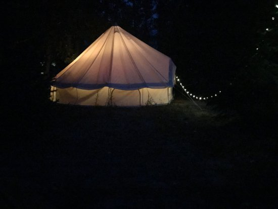 Ririe, ID: Romantic and very comfortable glamping tents.