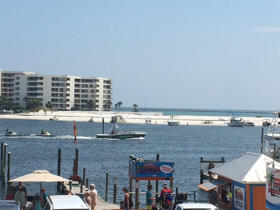 View From One Of The Restaurants Picture Of Destin Harbor