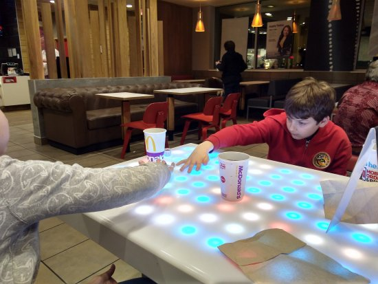 Eden, NC: fun, interactive table!!!