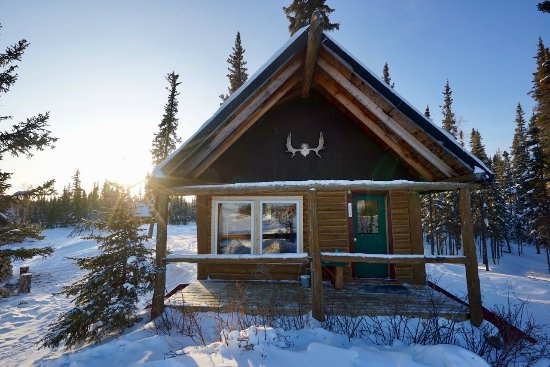 Blachford Lake Lodge: Point Cabin