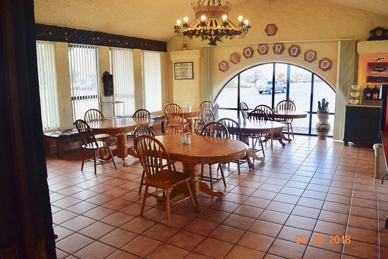 Eldorado Inn: Breakfast Room