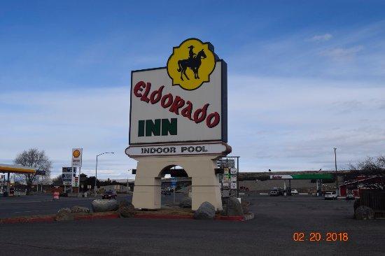 Eldorado Inn: Monument Sign