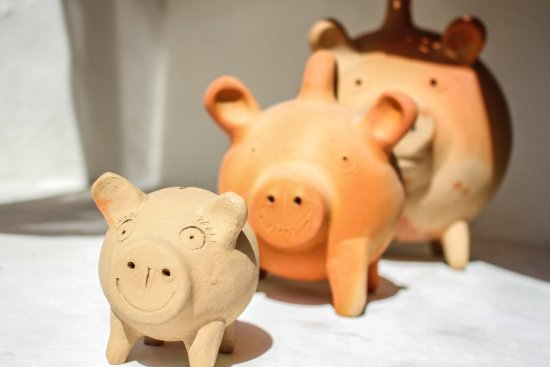 Kaahal Home Tulum Ceramic Piggy Banks