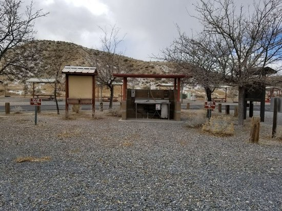 Lovelock, NV: Fish cleaning station
