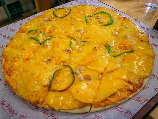 Image result for mango pizza