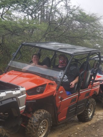 2 members of our group in a 4 person buggy - Picture of ATV & Buggy