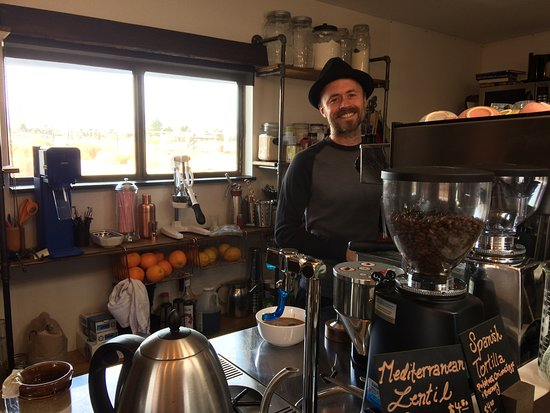 Pearce, AZ: Thomas the Specialty Coffee Man