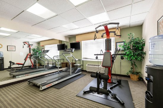 Quality Inn and Suites: Health club