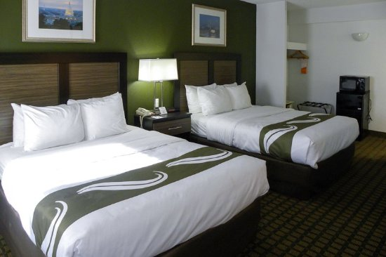 Quality Inn Mount Vernon: Standard Double Queen Size bed