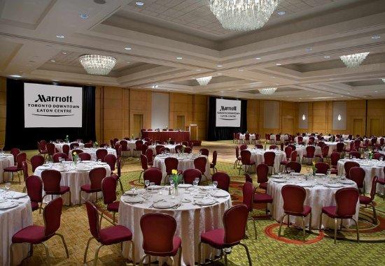 تورونتو ماريوت داونتاون إيتون سنتر: Ballroom