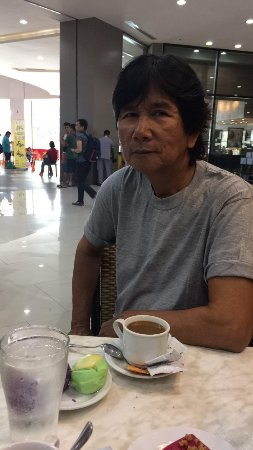 Coffee with Dad at Isla Kusina, Robinsons place Las pinas