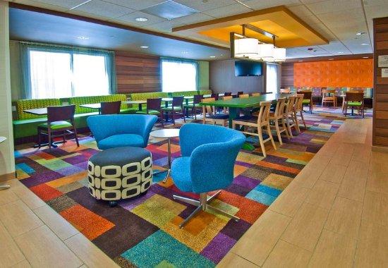 Fairfield Inn & Suites Jackson Airport: Lobby