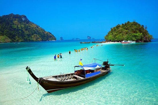4-Island Tour by Traditional Longtail Boat from Krabi