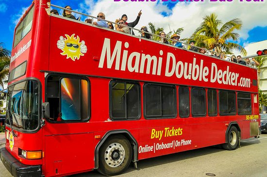 Miami Double Decker Bus Tour