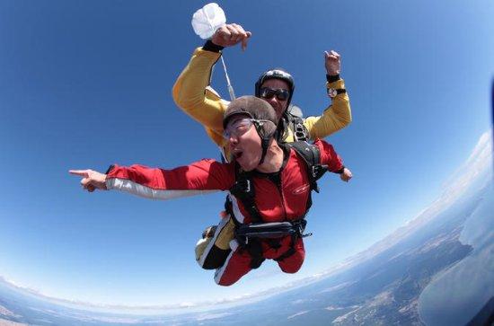 Lake Taupo 15.000Fuß-Tandem-Skydiving