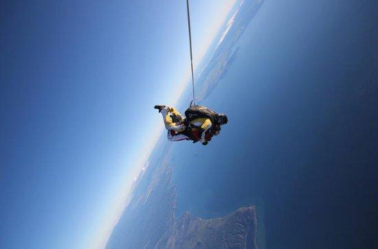 Lake Taupo 12.000 Fuß-Tandem-Skydiving