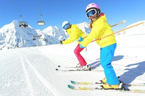 Jisan Skogs skianlegg fra Seoul med...