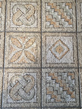 The mosaic tile floors in the restaurant are amazing! - Picture of ...